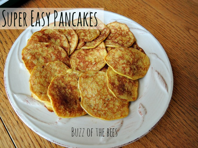 super easy pancakes